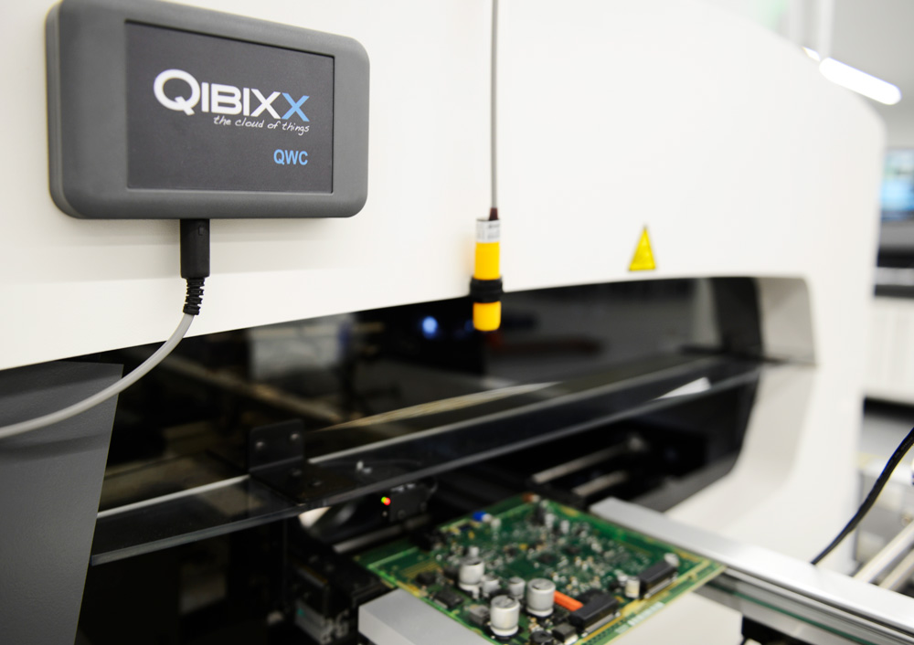 QWC in use at the production line